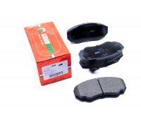 Тормозные колодки передние (с датчиком, R15) Fiat Ducato / Citroen Jumper / Peugeot Boxer 1994-2006 RM1095 GOODREM (Венгрия)