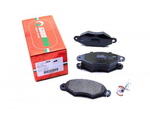 Тормозные колодки передние Renault Kangoo / Nissan Kubistar 97-08 RM1168 GOODREM (Венгрия)
