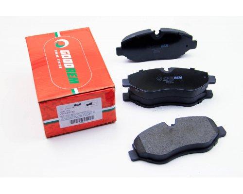 Тормозные колодки передние без датчика VW Crafter 2006- RM1179 GOODREM (Венгрия)