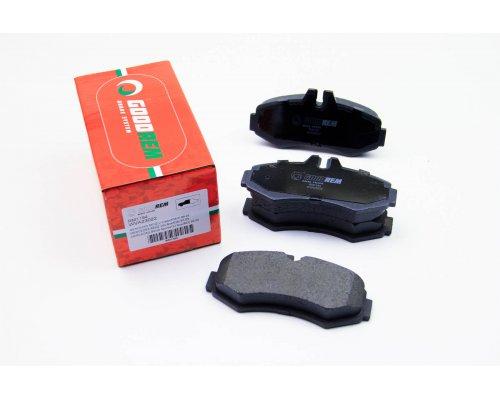 Тормозные колодки передние без датчика (система BOSCH) MB Vito 638 1996-2003 RM1194 GOODREM (Венгрия)
