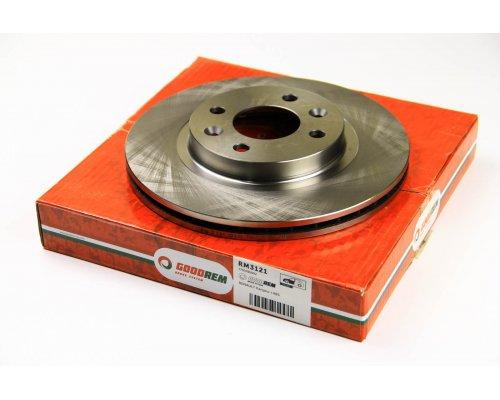 Тормозной диск передний (с ABS, D=259mm) Renault Kangoo / Nissan Kubistar 97-08 RM3121 GOODREM (Венгрия)
