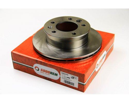 Тормозной диск передний (276х22мм) VW LT 28-46 1996-2006 RM3126 GOODREM (Венгрия)