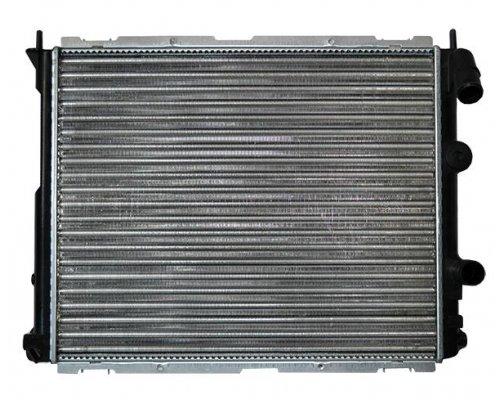 Радиатор охлаждения (480х395х27мм) Renault Kangoo 1.2 / 1.4 (бензин) 1997-2008 RT2267 AVA (Нидерланды)