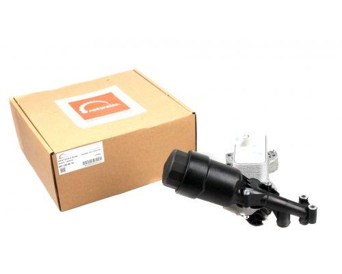 Корпус масляного фильтра (с радиатором, двигатель OM651) MB Sprinter 906 2.2CDI 2010- RW18004 ROTWEISS (Турция)