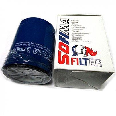 Масляный фильтр Fiat Ducato / Citroen Jumper / Peugeot Boxer 2.0 (бензин) / 1.9D / 1.9TD / 2.0JTD / 2.0HDi / 2.2HDi 1994-2006 S2530R SOFIMA (Испания)