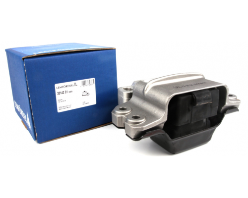 Подушка двигателя задняя левая VW Caddy III 2.0/1.6TDI/1.9TDI / 2.0SDI/2.0TDI (81kW) 33142 LEMFOERDER (Германия)