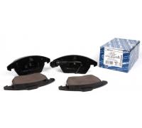 Тормозные колодки передние с датчиком (ушки вниз) VW Caddy III 04- 0252358720 / W MEYLE (Германия)