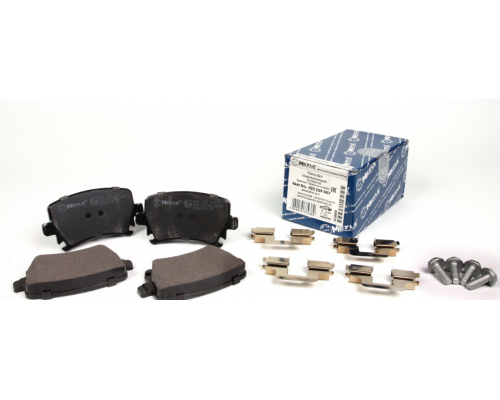 Тормозные колодки задние без датчика (105.3х55.9х17.1mm) VW Caddy III 04- 0252391417 MEYLE (Германия)