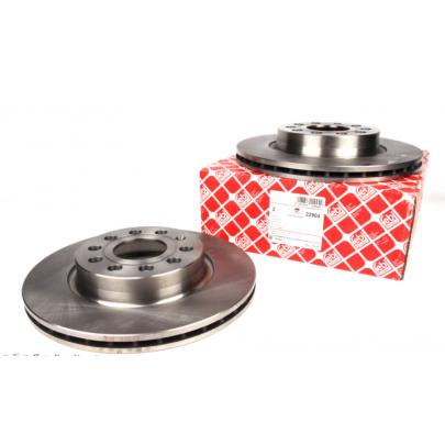 Тормозной диск передний (280х22mm) VW Caddy III 04- 22904 FEBI (Германия)