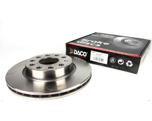 Тормозной диск передний (280х22mm) VW Caddy III 04- 604787 DACO (Польша)