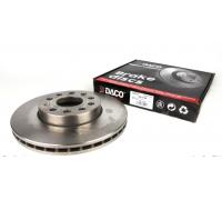 Тормозной диск передний (288х25mm) VW Caddy III 04- 604788 DACO (Польша)