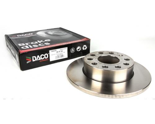Тормозной диск задний (256х12mm) VW Caddy III 04- 604794 DACO (Польша)