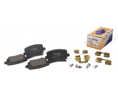 Тормозные колодки задние без датчика (105.3х55.9х17.1mm) VW Caddy III 04- 6980.01 AUTOTECHTEILE (Германия)