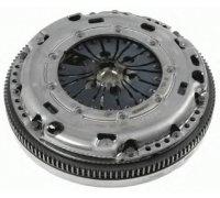 Демпфер / маховик + комплект сцепления (корзина, диск, без выжимного подшипника) VW Caddy III 2.0TDI 81kW 10- 2289 000 280 SACHS (Германия)