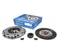 Комплект сцепления SACHS (корзина, диск, выжимной) VW Caddy III 1.9TDI 77kW 04- 3000 970 017 SACHS (Германия)