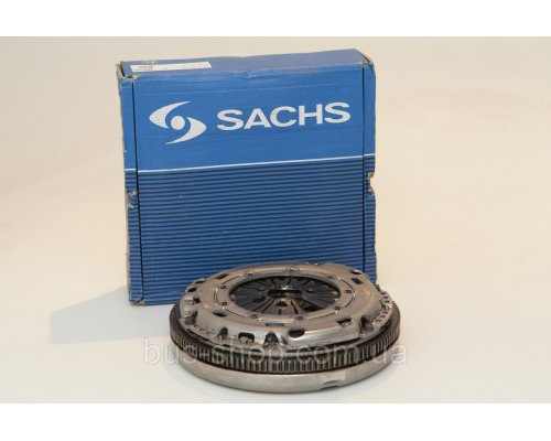 Демпфер / маховик + комплект сцепления (корзина, диск, без выжимного подшипника) VW Transporter T5 1.9TDI 03- 2289 000 280 SACHS (Германия)