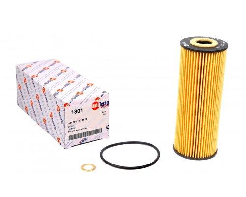 Масляный фильтр MB Vito 638 2.0 / 2.3 (бензин) 1996-2003 1801 AUTOTECHTEILE (Германия)