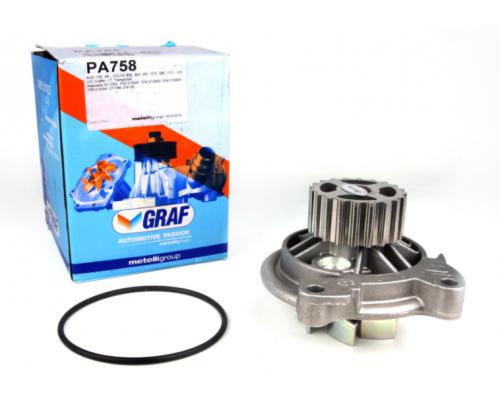 Помпа / водяной насос (20 зубов) VW LT 2.5TDI 96-06 PA758 GRAF (Италия)
