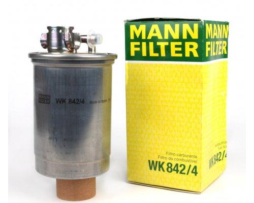 Топливный фильтр VW Transporter T4 1.9D / 1.9TD / 2.4D / 2.5TDI 90-03 WK 842/4 MANN (Германия)