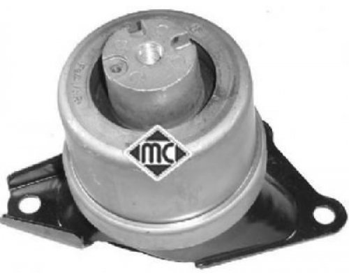 Подушка двигателя правая (без кронштейна) VW Transporter T5 2.0TSI / 2.0TDI / 2.5TDI 05443 METALCAUCHO (Испания)