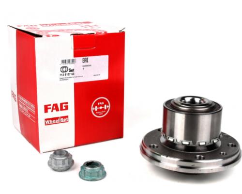 Комплект подшипника ступицы колеса VW Transporter T5 03- 713 6107 60 FAG (Германия)