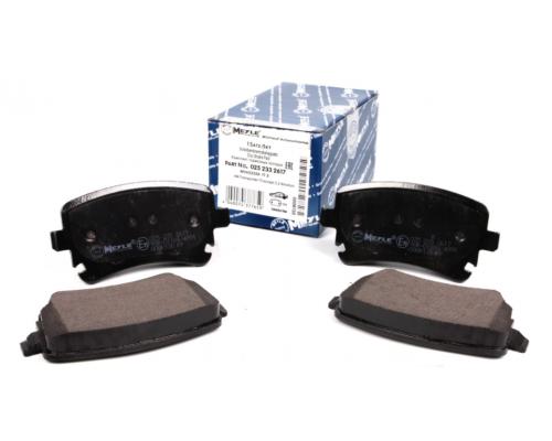Тормозные колодки задние (LUCAS, без датчика) VW T5 1.9TDI/2.0TDI/2.5TDI 025 233 2617 MEYLE (Германия)