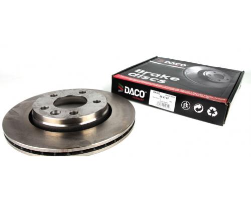 Тормозной диск задний (LUCAS, 294x22mm) VW Transporter T5 03- 604797 DACO (Польша)