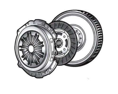 Демпфер / маховик сцепления (двигатель 99kW) Renault Trafic II / Opel Vivaro A 2.5dCi 2003-2014 V835014 VALEO (Франция)