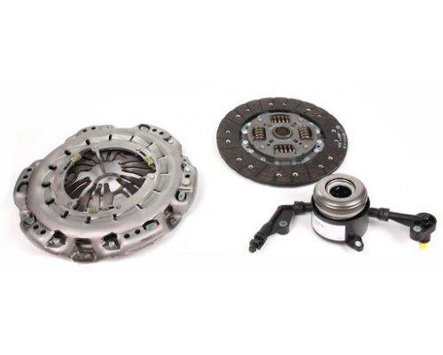 Комплект сцепления (корзина + диск + выжимной подшипник) MB Sprinter 906 (двигатель OM646) 2.2CDI 2006- 624324733 LuK (Германия)