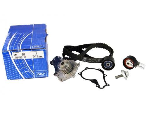 Комплект ГРМ + помпа (141 зуб) Fiat Scudo II / Citroen Jumpy II / Peugeot Expert II 1.6HDi 2007- VKMC03316 SKF (Франция)