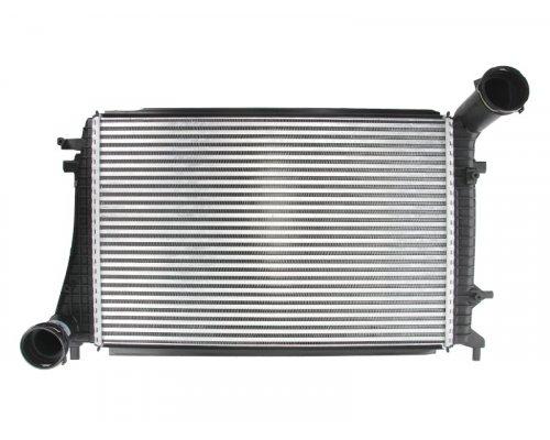 Радиатор интеркулера (двигатель BLS / BSU / BMM) VW Caddy III 1.9TDI / 2.0TDI 103kW 04-10 VWA4268 Elit (Украина)