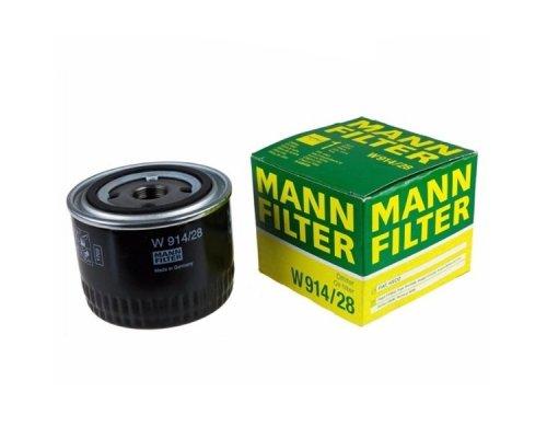 Масляный фильтр Fiat Ducato II 3.0 (газ) / 2.0D 2006- W914/28 MANN (Германия)