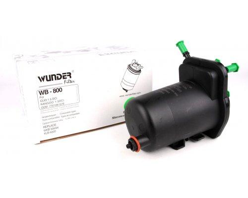 Фильтр топливный (с датчиком) Renault Kangoo / Nissan Kubistar 1.5dCi 97-08 WB-800 WUNDER (Турция)
