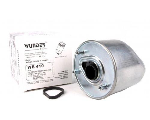 Фильтр топливный (двигатель 9H07, 9HH, 9HM) Fiat Scudo II / Citroen Jumpy II / Peugeot Expert II 1.6HDI 2007- WB410 WUNDER (Турция)