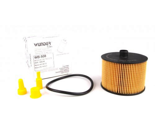 Фильтр топливный Fiat Scudo II 2.0D 88kW / 100kW 2007- WB508 WUNDER (Турция)