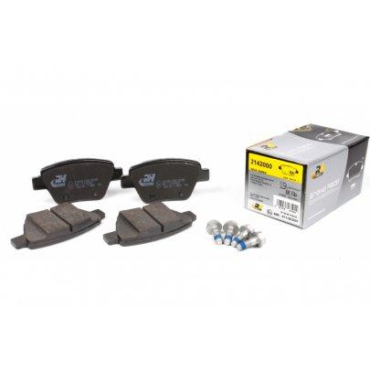 Тормозные колодки задние без датчика (109.3х53.4х17.7mm) VW Caddy III 04- 21420.00 ROADHOUSE (Испания)