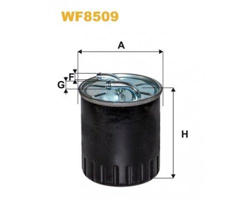 Топливный фильтр (без датчика) MB Sprinter 906 3.0CDI 2006- WF8509 WIX (Польша)