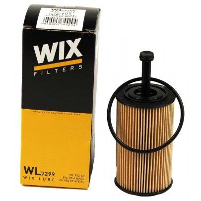 Фильтр масляный Peugeot Partner / Citroen Berlingo 1.1 / 1.4 / 1.6 (бензин) 1996-2008 WL7299 WIX (Польша)