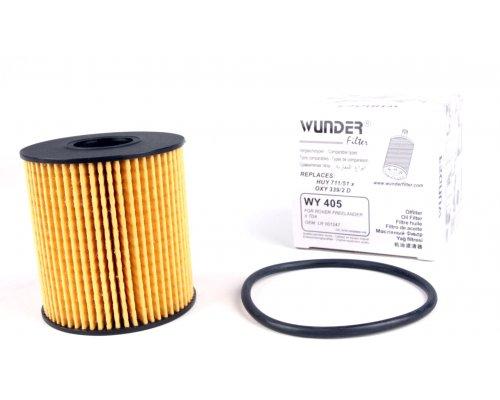 Фильтр масляный Fiat Scudo II / Citroen Jumpy II / Peugeot Expert II 2.0HDi, 2.0 (бензин) 2007- WY405 WUNDER (Турция)