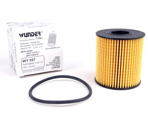 Фильтр масляный Fiat Scudo II / Citroen Jumpy II / Peugeot Expert II 2.0HDi, 2.0 (бензин) 2007- WY557 WUNDER (Турция)