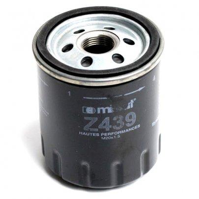 Фильтр масляный Peugeot Partner / Citroen Berlingo 1.1 / 1.4 / 1.6 / 1.8 (бензин) 1996-2008 Z439 MISFAT (Польша)